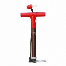Floor Pump with Gauge